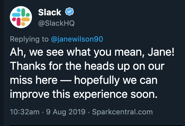 Response from slack - they hope to improve the experience soon.