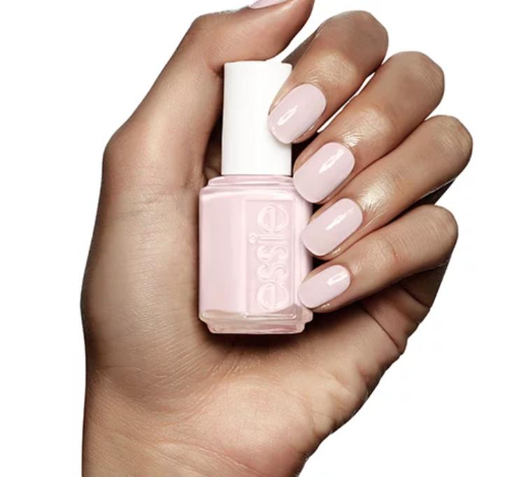 Adore-a-ball nail polish on fingernails